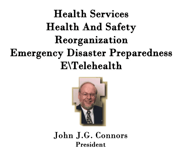 Welcome Image - Health Service, Health & Safety, Emergency Disaster Preparedness, E\Telehealth