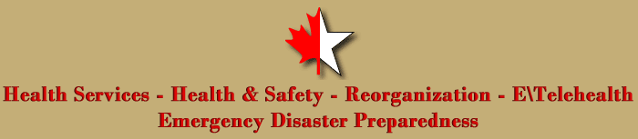 Health Services - Health & Safety - Reorganization - E\Telehealth - Emergency Disaster Preparedness